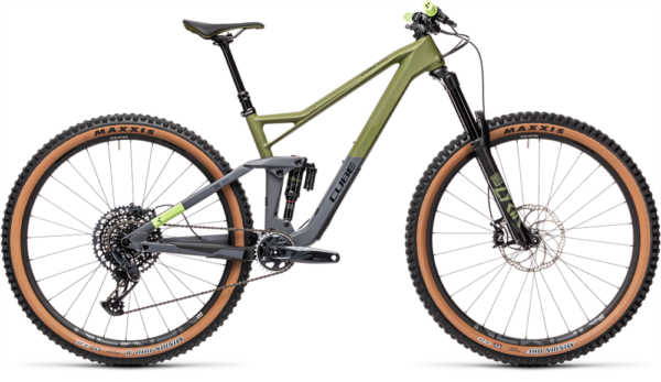 Cube Stereo 150 C:62 Race 29 olive´n´grey