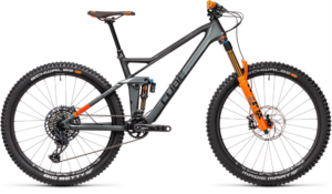 Cube Stereo 140 HPC TM 27.5 flashgrey´n´orange